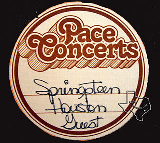 Bruce Springsteen 1978 - SAM HOUSTON COLISEUM, HOUSTON, TX