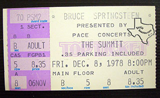 December 8, 1978  THE SUMMIT, HOUSTON, TX