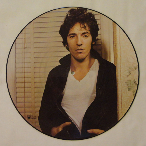 Darkness on the Edge of Town Promo Picture Disc LP (U.S.)
