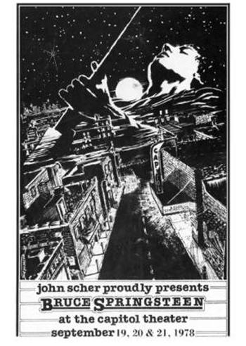 September 1978 Passaic Capitol Theatre Marquee (U.S.)