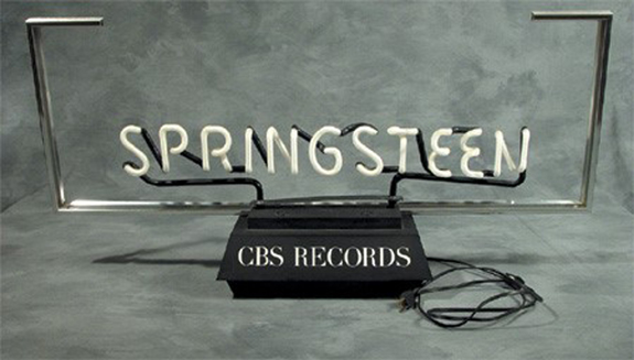 1978 Springsteen Promo Neon Sign (U.S.)