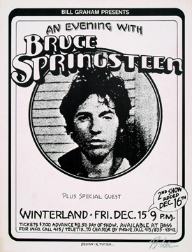 December 1978 Winterland Concert Poster (US)
