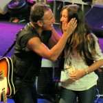 Bruce Springsteen in Paris with Daughter Jessica