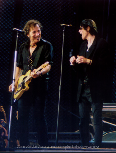 Bruce with Peter Wolfe